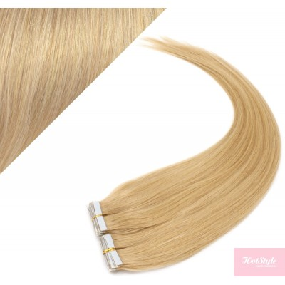 60cm Tape in Haare REMY - naturblond