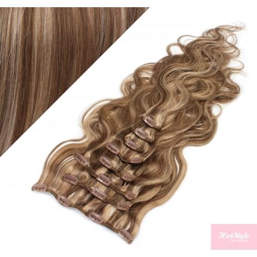 Haare in dunkle strähnen blonde Blonde haare