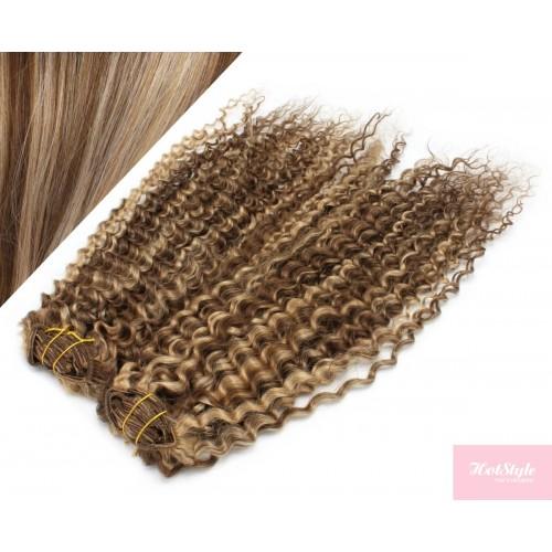 Dunkle blonde strähnchen haare Schwarze Haare