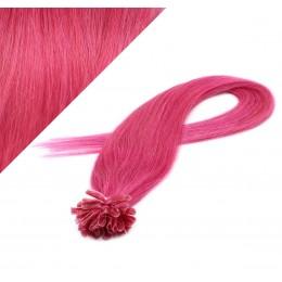 60 cm REMY haar europäischen typs für die Keratinmethode - rosa