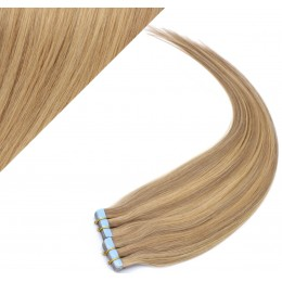 60cm Tape in Haare REMY - naturblond/hellblond