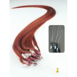 40cm Micro ring/easy loop haare REMY - kupfer