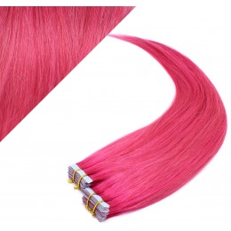 50cm Tape in Haare REMY - rosa