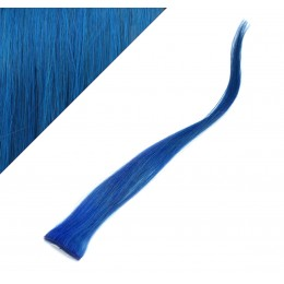 Remy Clip-In Strähne 50cm - blau